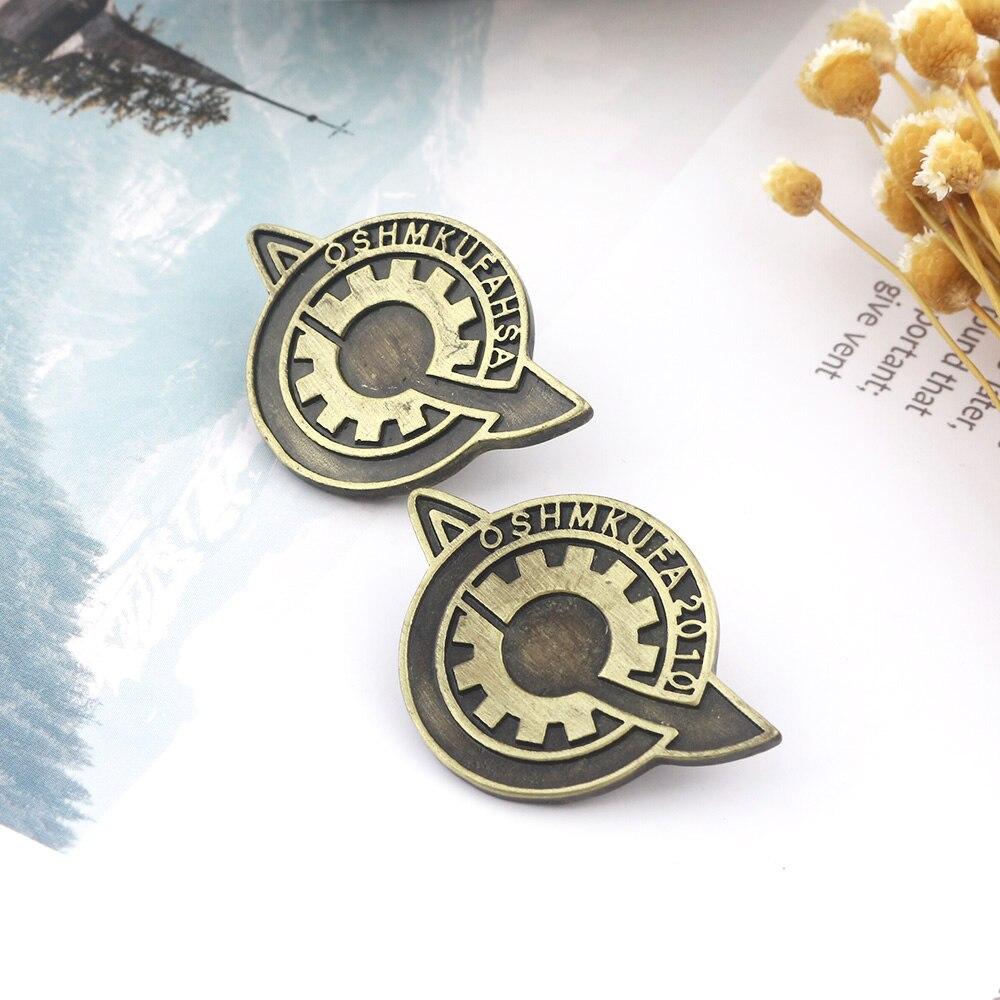 Japanese Steins;Gate Makise Kurisu labmem Lapel Pin SG Brooch Badge US Shipping