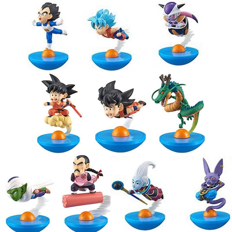 6pcs Dragon Ball Z Action Figure Son Goku Gohan Goten Buu