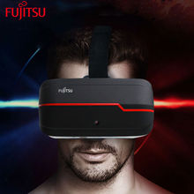 2017 New Arrival Fujitsu VR All In One Virtual Reality Glasses 2D 3D Headset With Tablet PC CPU Quad Core DDR3 Anti Blue Laser