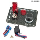 Car Electronics Racing Switch Kit /Switch Panels-Flip-up Start/Ignition/Accessory For BMW E30 325i 318i M3 EP-RSK3013
