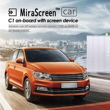 Véritable MiraScreen C1 Voiture WiFi Affichage Dongle WiFi Miroir Boîte Airplay Miracast DLNA GPS Navigation Voiture pour iOS Android Téléphone TV
