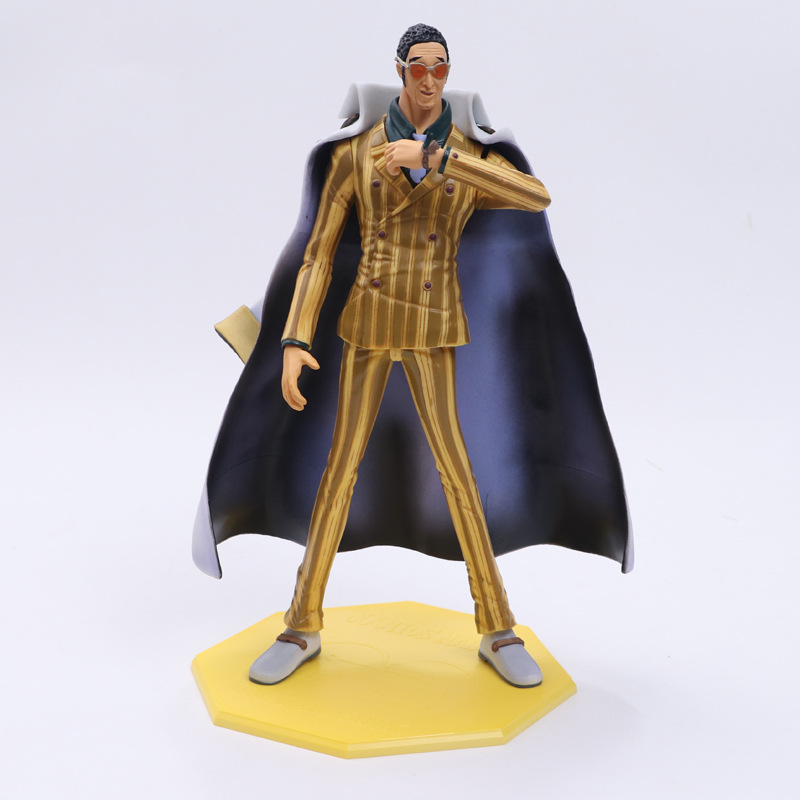 9.5 One Piece Marine Admiral Borsalino Kizaru POP DX ver. Boxed 24cm PVC Anime Action Collection Figure Model Doll Toys Gift free shipping 10 anime one punch man saitama broken ground ver boxed 24cm pvc action figure collection model doll toy gift
