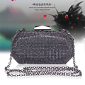 Timed New Europe Style Women Diamond Party Bags Fashion Elegant Ladies Clutch Chain Shoulder Small Bags Evening Dress Bag