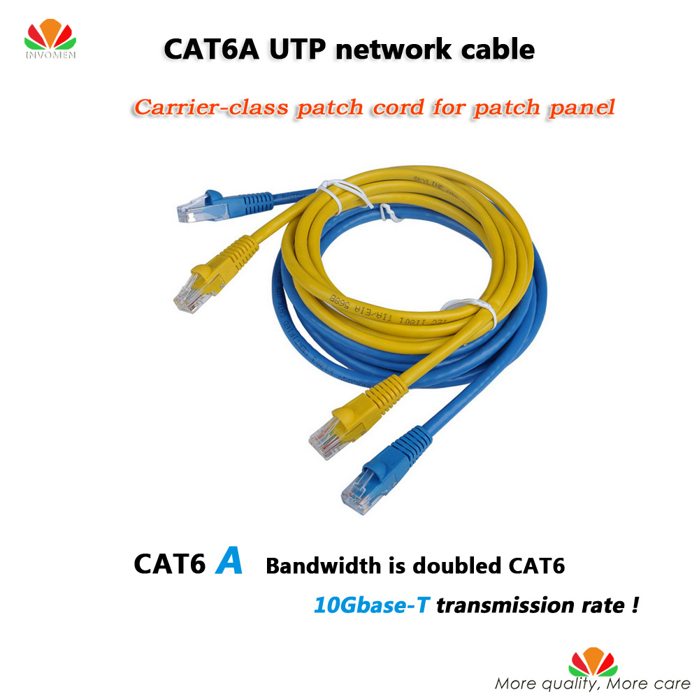 200 unids/lote 0.5 m CAT6A flat Ethernet UTP cable de red ... on