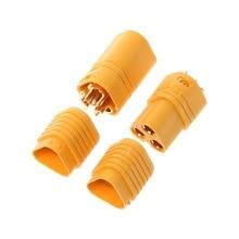 High Quality 1 Pair MT60 3.5mm 3 Pole Bullet Connector Plug Set For RC ESC to MotorRamadan Festival GiftRamadan Gift