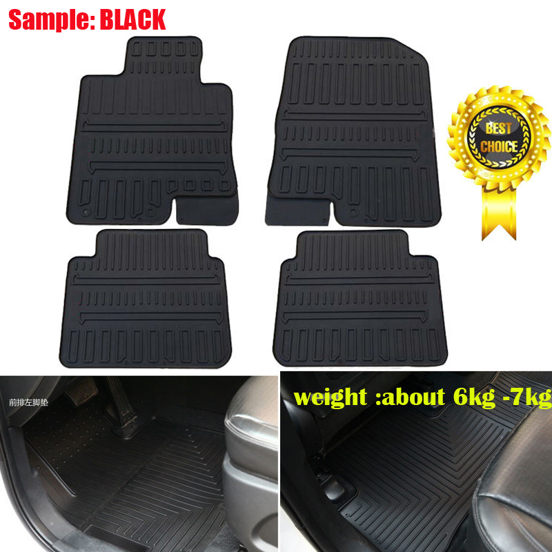 floors rubber fabia skoda black waterproof to high hatch car clips product tailored fit quality floor mats on travall