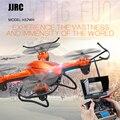 Jjrc h32wh wifi fpv com 720 p câmera modo de altitude hold 2.4G 4CH 6 Eixo RC Quadcopter RTF Mode2 RC Helicóptero RC toys
