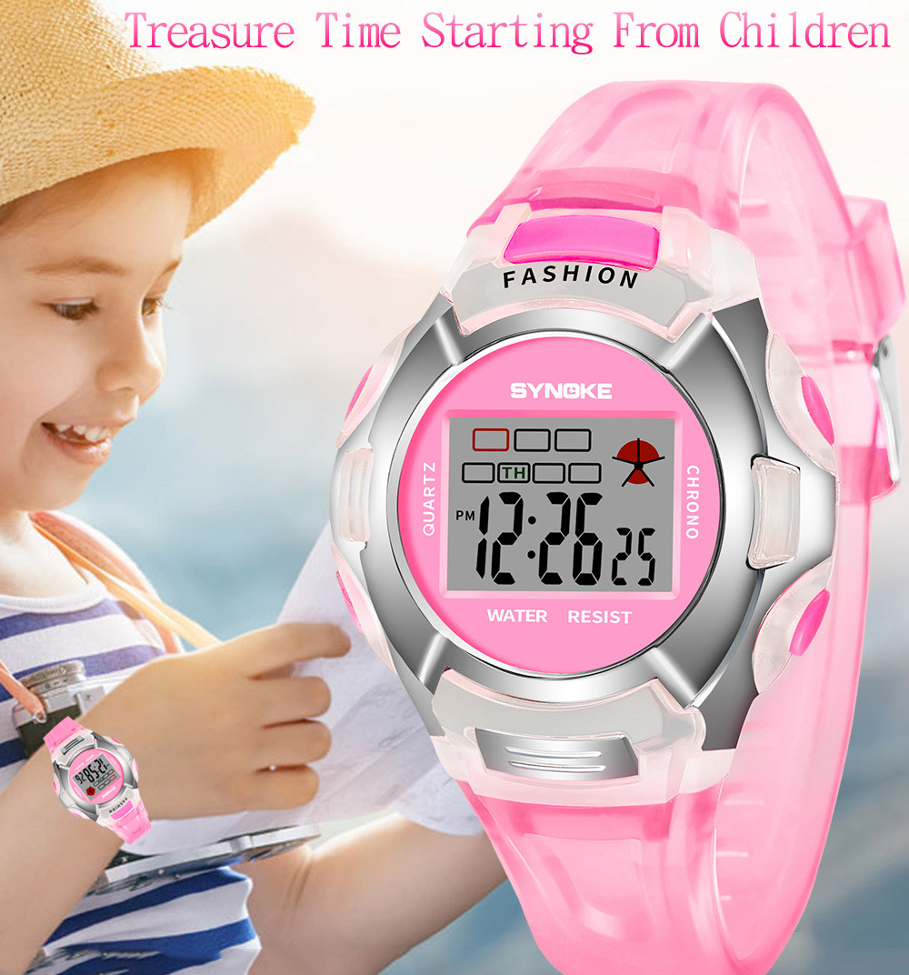 children's watch for boys Student Waterproof Sports Watch LED Digital Date boys watches gps zegarki dla dzieci