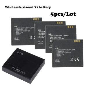 Спортивные аккумуляторы Xiaoyi yi m11010mah 3,7 в xiaoyi yi + зарядное устройство AZ13 1 для xiaomi, аксессуары для аккумуляторов