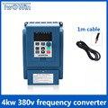 4kw 380 v AC inversor de frecuencia y convertidor de tres Fase de entrada de 380 v 3 Fase de salida de CA/frecuencia convertidor