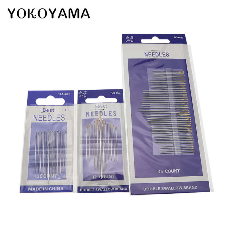 YOKOYAMA Hand Sewing Needles Home DIY Sewing Stitcher Thread Harness Craft  Hand Stitch Tool DIY Household Manual Sewing Pins