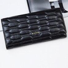 Elegant Handtasche Frauen Brieftaschen Aus Echtem Leder Schwarz Haspe Handtaschen Partei Abendtaschen