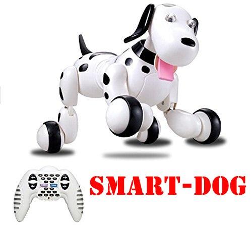 HappyCow 2,4G Wireless RC Hund Fernbedienung Smart Hund Elektronische Haustier Pädagogischen Tanzen Roboter Hund