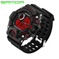 Men Watches Sport Luxury SANDA Brand Men's Military Sports Watches Digital LED Electronic Man Wristwatches Relogio Masculino