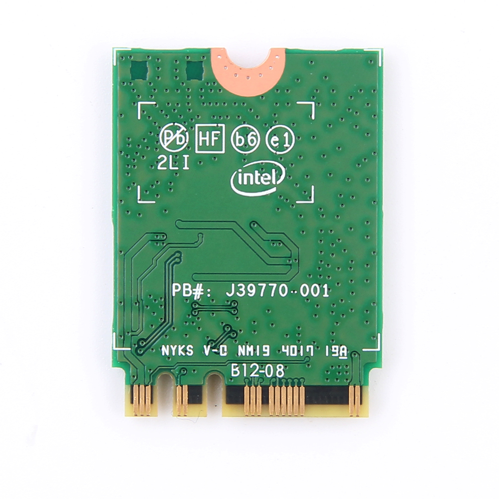 Dual Band Wireless-AC 9260NGW NGFF 1.73Gbps 802.11ac WiFi Card+Bluetooth For Intel 9260 8265NGW 7260AC NGFF 2.4G/5G Gaming Wlan