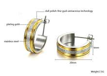 Earrings Stainless Steel Model 2
