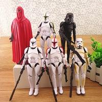 Children S 6Pcs Set 15cm Darth Vader Revenge Of The Sith Storm Trooper Anakin Skywalker Weapons