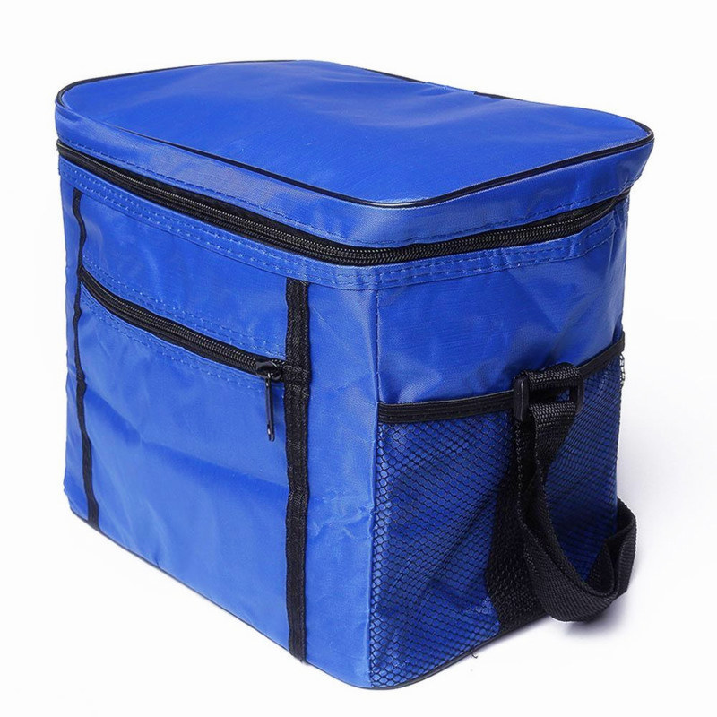 2018 oxford Keeping Cooler Bag for summer travel Ice Pack Insulated Lunch Bag Food Fruit Drink shoulder picnic lunch bag 3 color ...