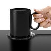 12V Household Wireless USB Insulation Coaster Heater Heat Insulation electric multifunction Coffee Cup Mug