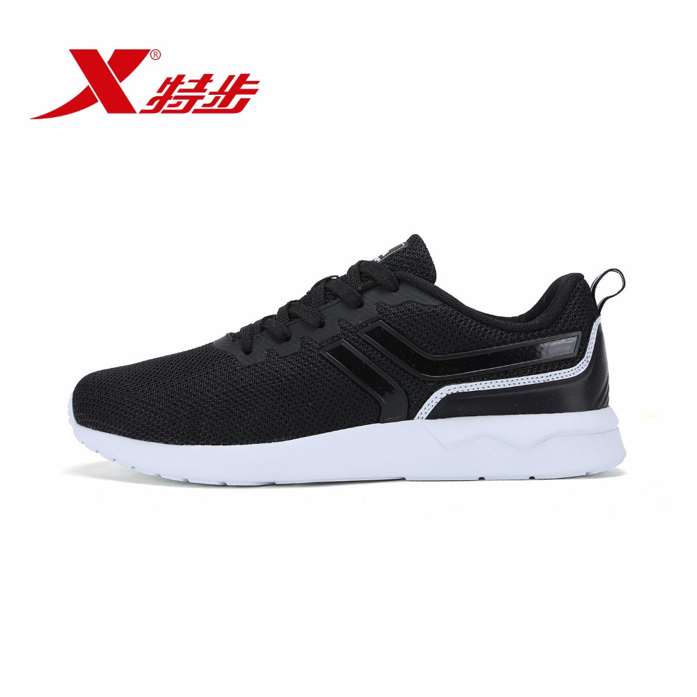 983219315605 Xtep 2018 человек Уличная обувь для прогулок новые летние сетчатые дышащие повседневные спортивные для мужчин скейтборд