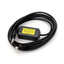 FOURSTAR USB programming for Mitsubishi FX3U and FX2N/FX1N/FX0/FX0S/FX1S series PLCs Cable USB/RS422 interface
