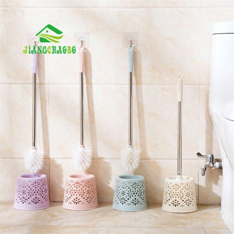 JiangChaoBo WC cepillo de Limpieza de Baño Cepillo de Baño de Acero Inoxidable B