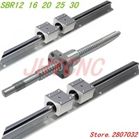 6 sets linear rail SBR16 L300/800/600mm+SFU1605 350/650/850mm ball screw+3 BK12/BF10+3 DSG16H nut+3 Coupler for cnc