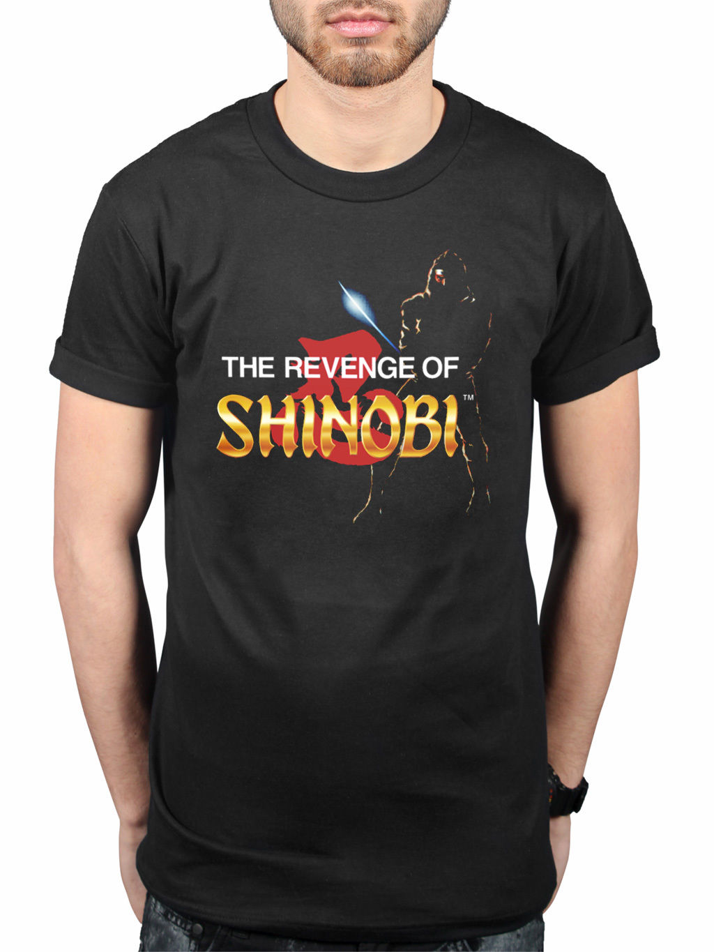 Basic Tops Official Sega Revenge Of Shinobi Retro T-Shirt Classic Game Merchandise Genesis