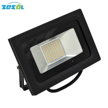 ZESOL LED Flood lights 50W waterproof IP66 DC24V AC220V outdoor outside exterior lighting iron