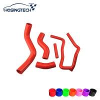 HOSINGTECH for Toyota FT86 GT86/BRZ Silicone Radiator Hose Kit