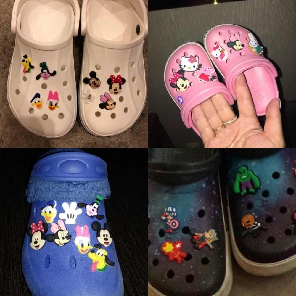 29a52ce7bd0cd ... 9PCS lot the Secret Life of Pets PVC Shoe Charms Accessories for Croc  Decorations for ...