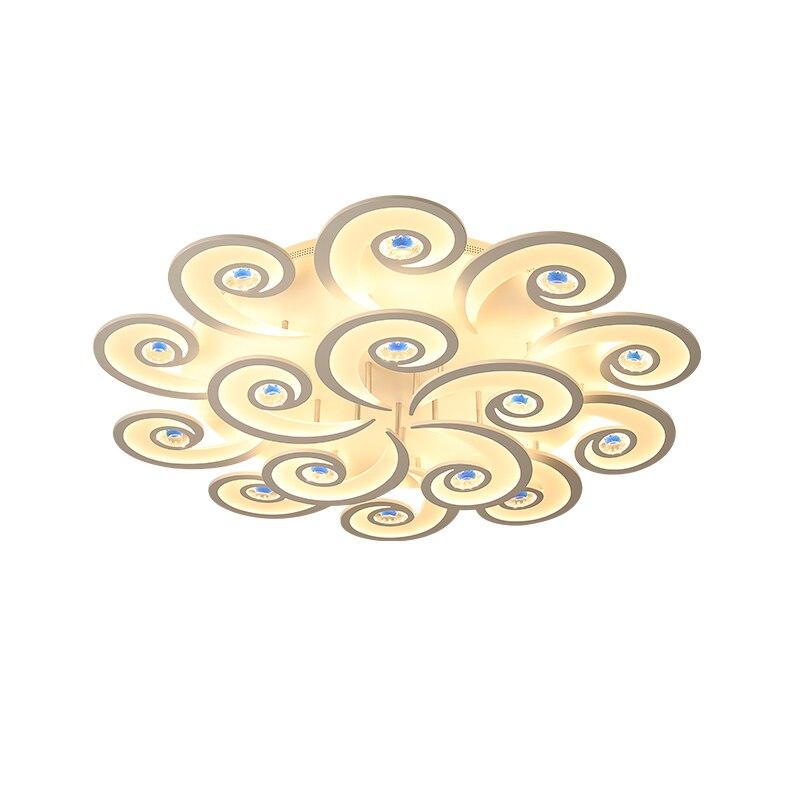 New led Chandelier For Living Room Bedroom Home lustre para sala AC85 265V Modern Led Ceiling Chandelier Lamp Fixtures lustre Chandeliers     - title=