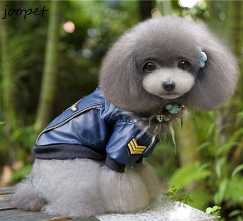 Free Shipping Newest Cheap Pet Leather Jacket Clothes For Dogs Pet