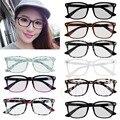 2017 Grandes gafas de Marco Hombres y Mujeres Plana Cuadrada Gafas Lente Transparente Gafas de Equipo Anti-fatiga gafas de Lectura Gafas de gafas Ópticas marco