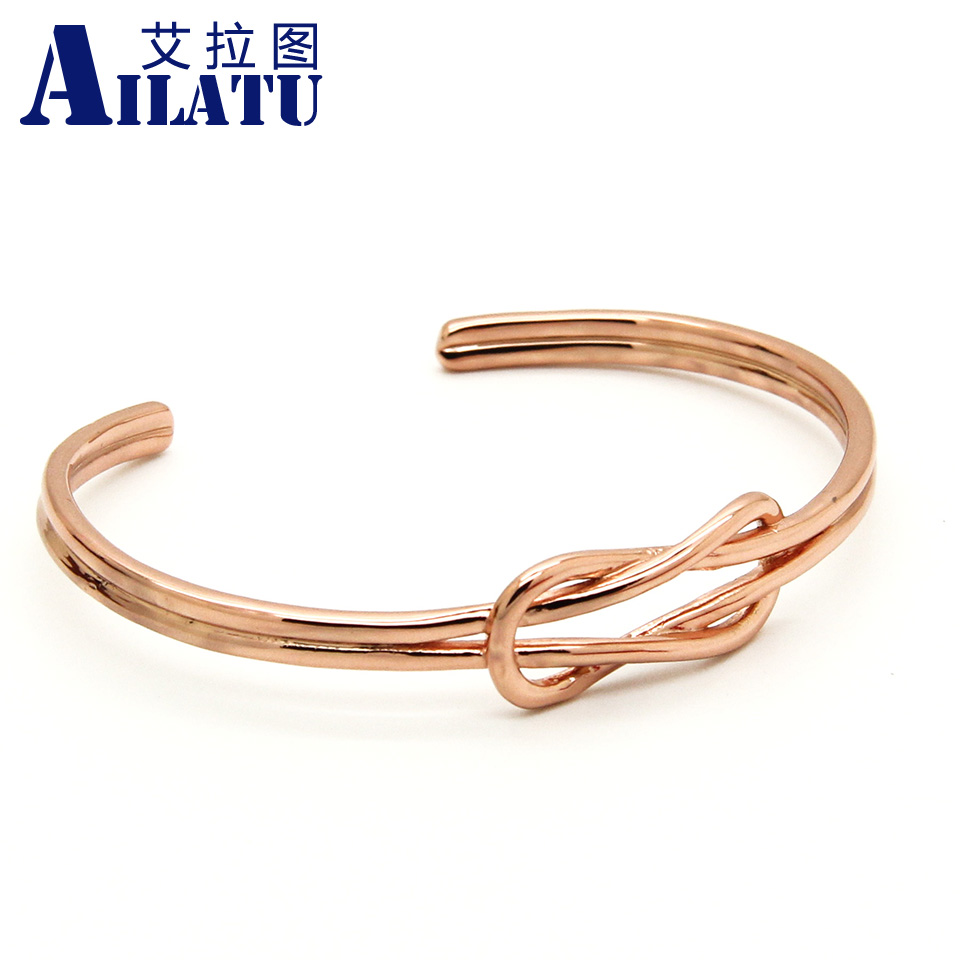 gold bangles bangle in index knot open