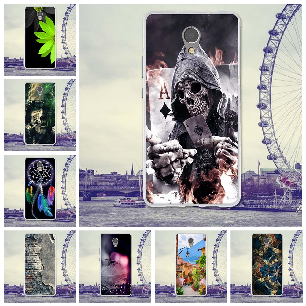 Phone Case For Lenovo Vibe P2 Cases Back Cover for Lenovo VibeP2 Covers P2a42 Silicone Phone Bag TPU Cartoon Painting Shell