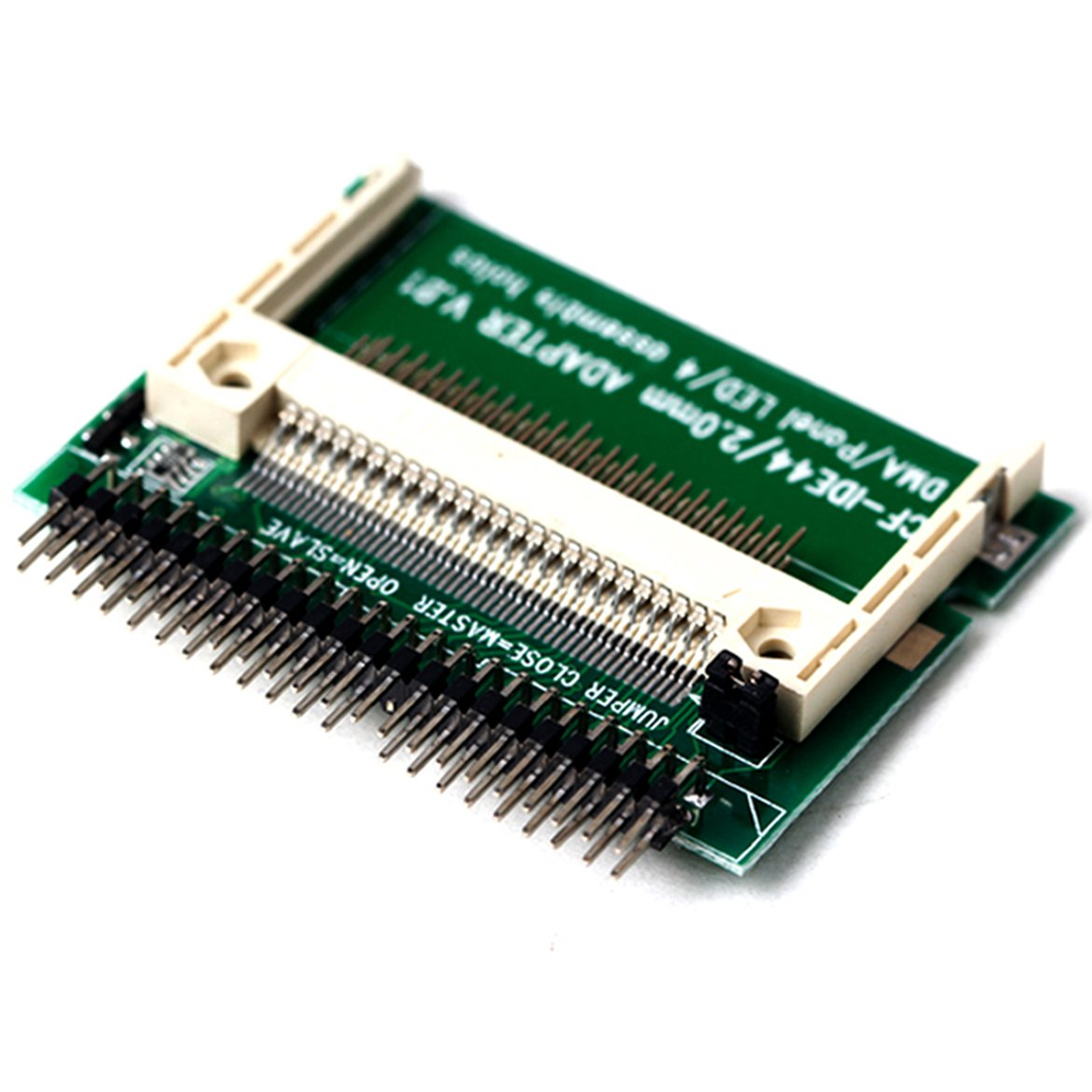 2019 New IDE 44 Pin Male to CF Compact Flash Male Adapter Connector-in Computer Cables & Connectors from Computer & Office