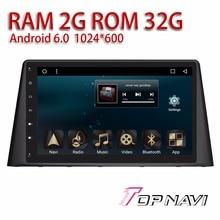 "Car multimedia para Peugeot 308 2016 Android 6.0 10.1 ""topnavi 2G Ram 32G memoria interna completa con bluetooth WiFi navegación"