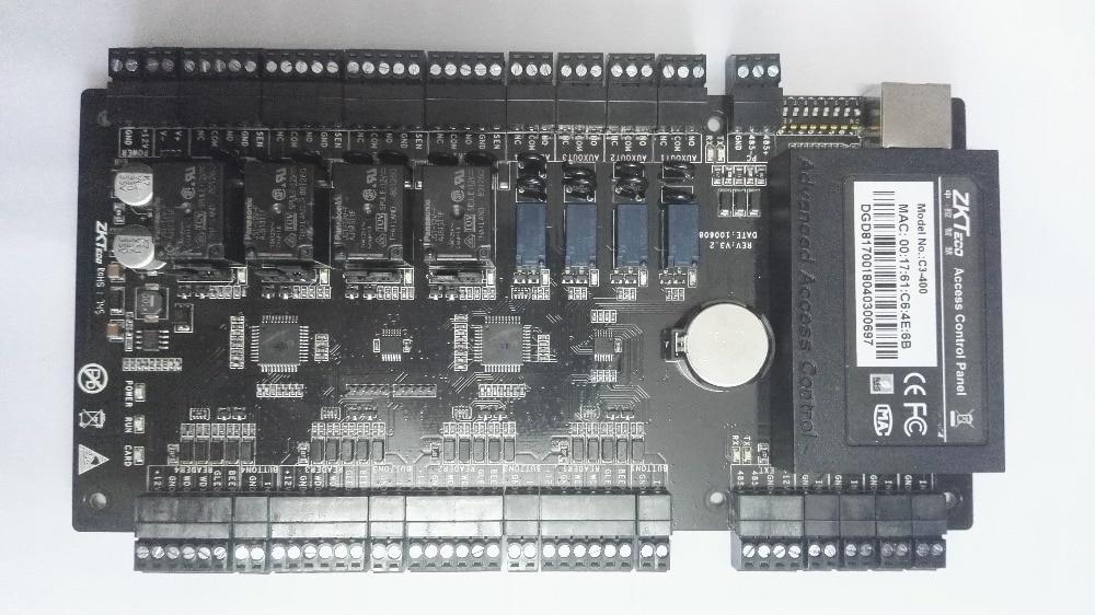 100% QualitäT C3-400 Eingebaute Hilfs Eingang Und Ausgang Vier Tür Access Control Panel Tcp/ip, Rs485 Bequem Und Einfach Zu Tragen