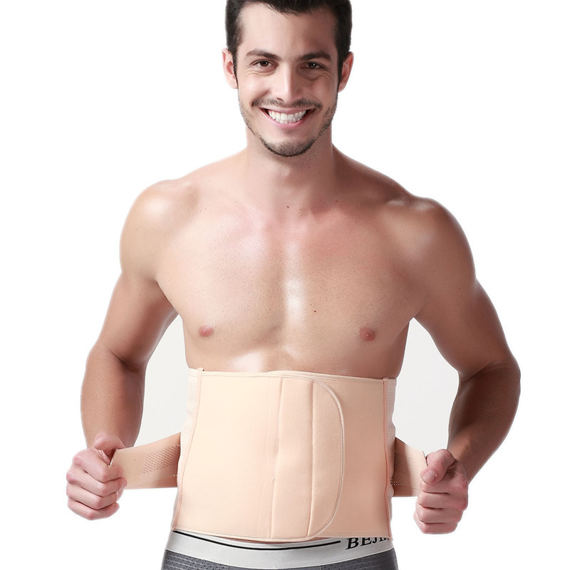 New men waist Contral corsets reduce weight men belt waistband burning fat corset belts body shaper waist cincher shaper belt