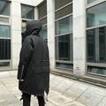 Lo nuevo de Kanye West Yeezus Chaquetas Abrigos de Los Hombres de Cuello de Piel Marca grueso Invierno Cálido Bombardero Ma1 Peces M51 larga de algodón acolchado escudo