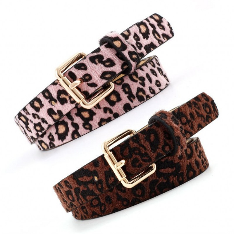 Winter Luxury Brand Belts For Women High Quality PU Leather Pin Buckle Female Dress Designer Vintage Belt Women's Jeans Strap