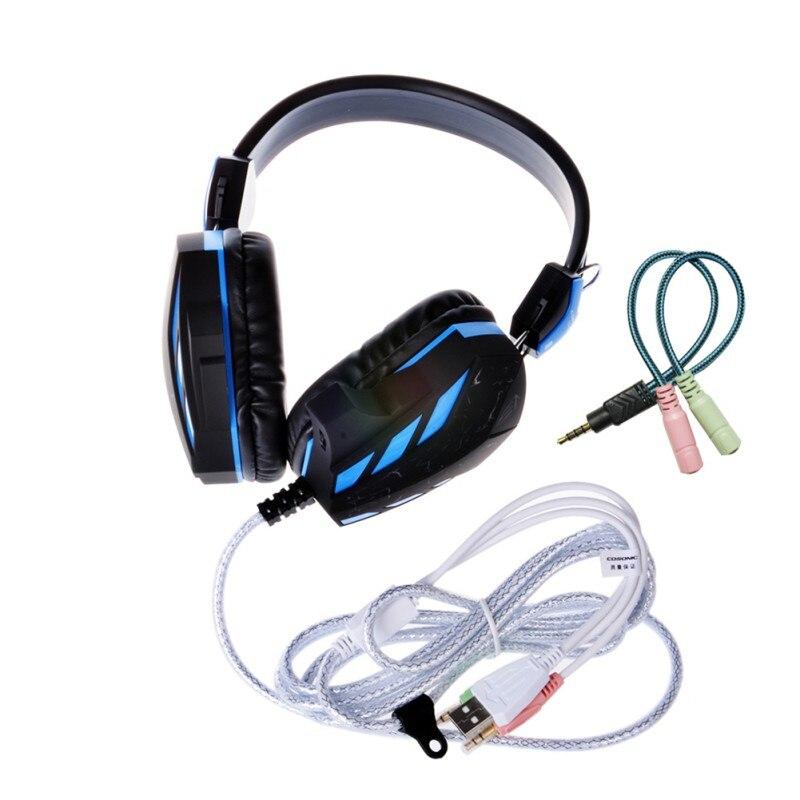 Cosonic CD-618 Crack Version Gaming Headphone Headset Stereo Earphone Microphone