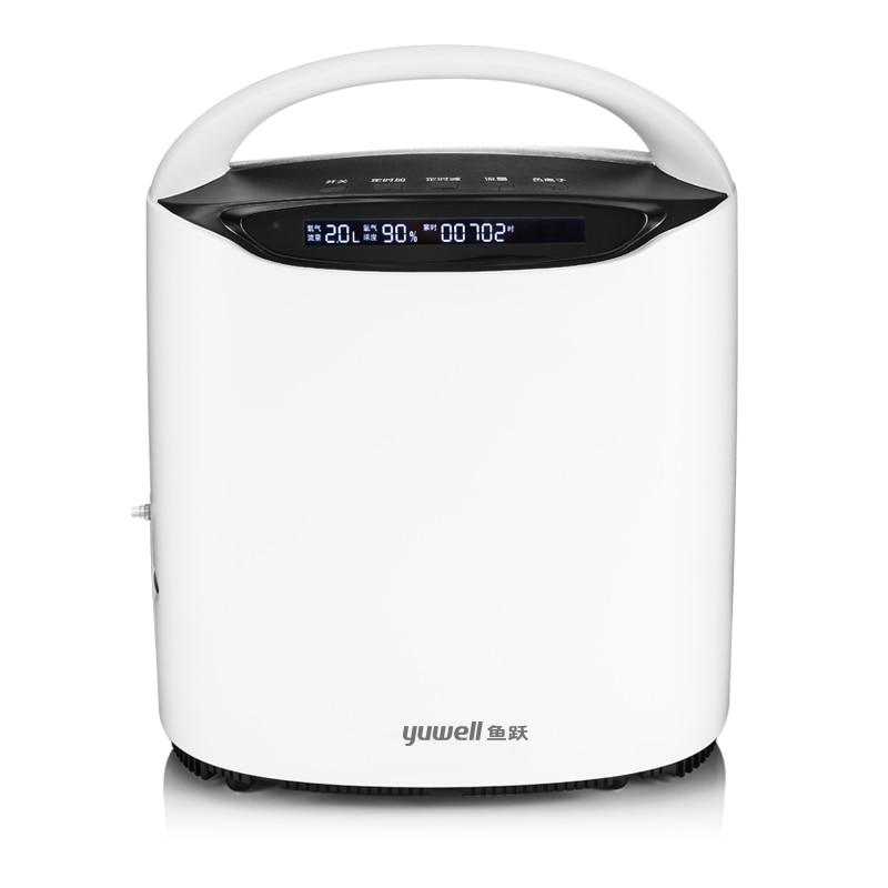 YUWELL YU600 regulowany 1L 2L 3L 150VA Homecare Oxgen koncentrator Ultra cichy Bar tlenowy stabilny Generator przepływu tlenu Protabl