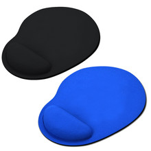 1pcs Mouse Pad Wrist Protect Optical Trackball PC Thicken Soft Comfort Mat Mice