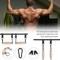 Practice Pull up Arm Muscle Strength Training Bar Finger Trainer Strength Training Equipment Gym Workout Fitness Pull Up Bar