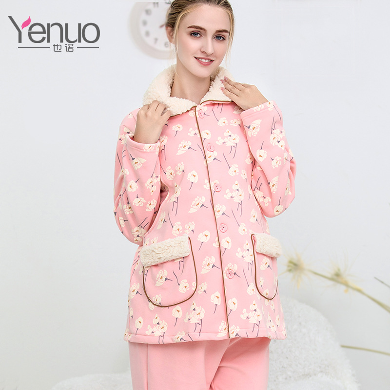 Nursing Full Sleeve With Opening Design Maternity Sleepwear Set for Pregnancy Woman Pajamas suit cotton materinty nursing pajamas long sleeve pijamalar hamile plaid pajamas set maternity sleepwear for pregnant women 50m084