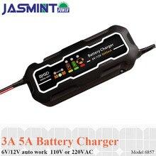 Smart Car Portable Quick Battery Charger 12V/6V 5A Motorcycle Lead Acid Batteries