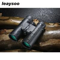 LEAYSOO 8x26 Professional Binocular Folding Low light level Night Vision Waterproof MC Green Film Telescope Bak4 telescope