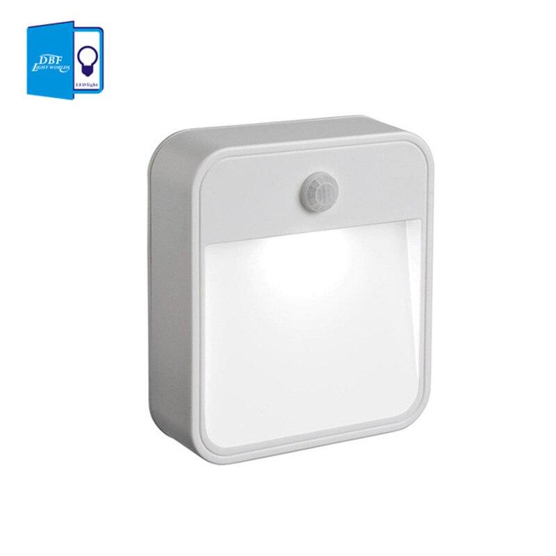 [DBF] 1LED 10lumens LED wireless nightlights with Motion sensor + light sensor (use 4pcs*AA battery ) in livingroom or anywhere